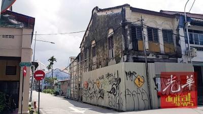 槟宗联委向州政府索讨名英祠爱情巷产业。