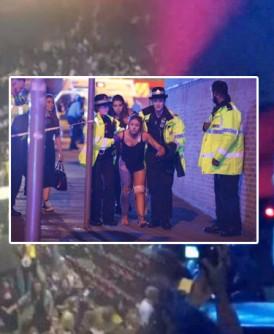 曼市演唱会恐袭爆炸,多人死伤。(互联网图片)