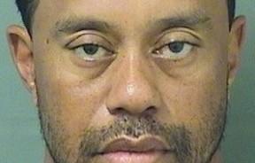 美国高尔夫球巨星老虎伍兹因为醉驾被警方逮捕。