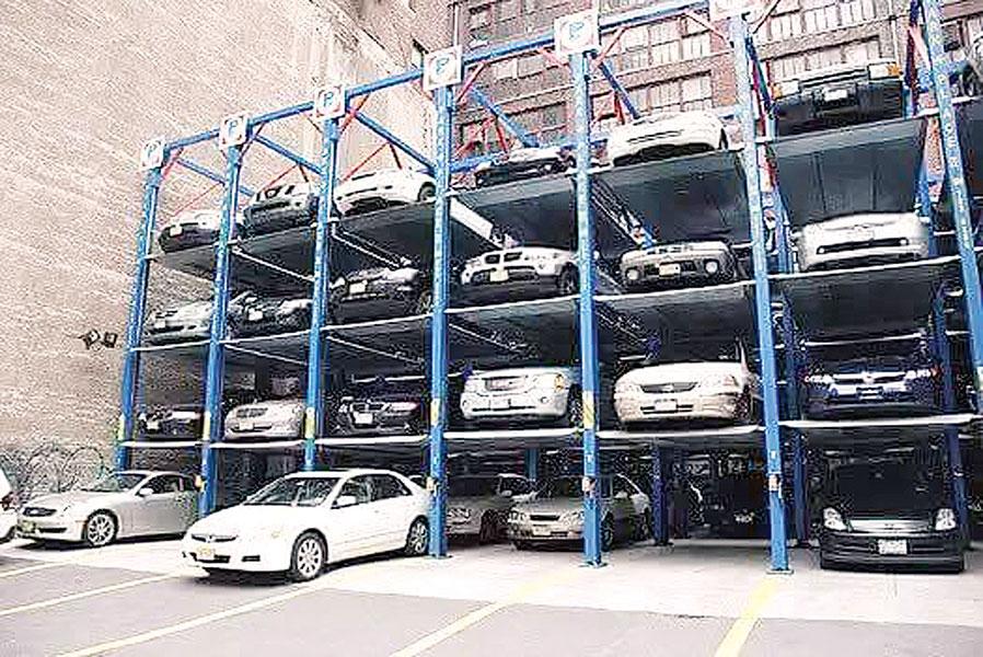 杨顺兴建议地方政府建设升降横移式机械停车位。