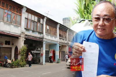 居民突然接到来自市政厅的追债单,要求缴付6000至9000令吉的门牌税。