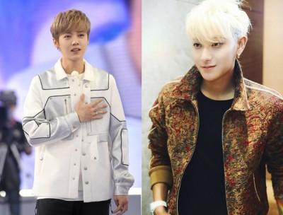鹿晗及黄子韬起离开韩团EXO继第一公开互动。