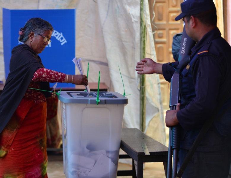 élection népal 2017