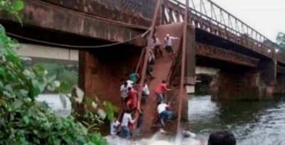 印度果阿邦周四发生一起桥坍塌意外,造成至少1死多人失踪。