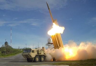 朝鲜的飞弹试射被韩国的萨德系统首侦测到。