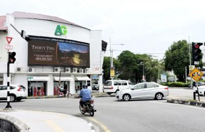 6月1天起,LED商业招牌广告要根据槟岛市政厅拟定的尺寸及播放时间指南运作。