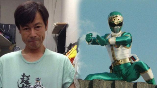 能见达也1993年以《五星战队大连者》天幻星.大五(绿战士)一角走红。