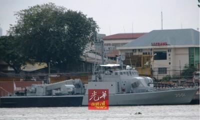 大马皇家海军之Perdana军舰以丹绒素里里海地段失联。