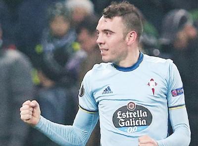 塞达伟哥前锋阿斯帕斯将邪在欧联杯尾归折尾发。