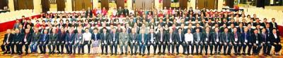 讴歌联会常年代表大会,通与会者大合照。