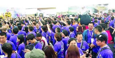 """5月30日,多福城计划迎来数千名""""胜威家人""""实地考察,场面浩大。"""
