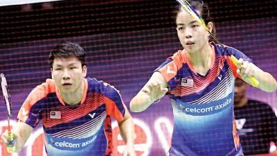 吴顺发/赖洁敏在泰国羽球公开赛打进决赛,放眼黄金赛首冠。