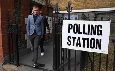 英国4700万名选民在周四投票选出下议院650名议员。(法新社照片)