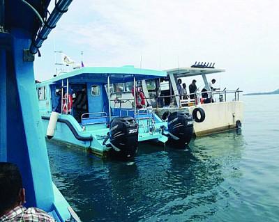 2只船舶被没收,船上7人口早已让羁押。