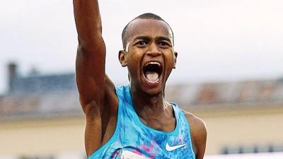 卡塔尔男子跳高名将巴尔希姆打破了长达28年的赛会纪录。