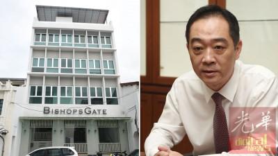 """吴骏:槟岛""""华签证申请服务中心""""用以6月30天举行揭牌开幕仪式。"""
