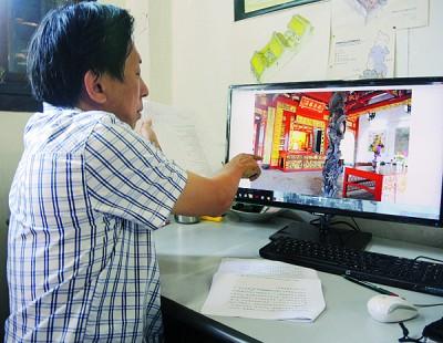 陈耀威透露,观音亭没有了根据古迹维修指南进行维修。