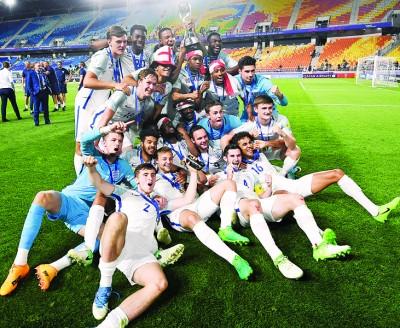 英格兰史上首次赢得U20世青赛冠军。