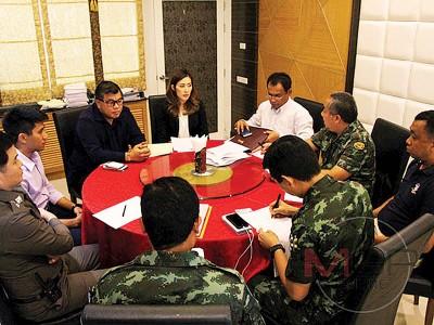 张誉作当年以泰国接受执法单位用口供的事态。(像源自泰国网媒)