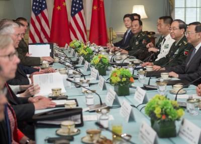 杨洁篪和蒂勒森、马蒂斯联名主办首轮中美外交安全对话。