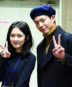 朴宝剑与张娜拉被指最近出现在清潭洞的婚纱店大街,似是为结婚作准备。