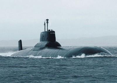 俄国海军战略核潜艇尤里.多尔戈鲁基号。