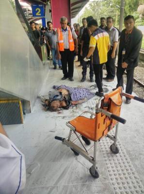 抢救人员以现场也伤者提供初步治疗。