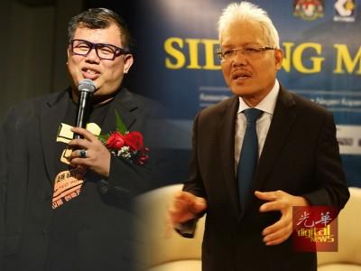 """韩沙再努丁证实,周一晚展开""""代币行动2""""逮捕的华裔男子,正是MBI集团创办人张誉发"""