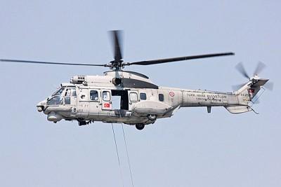 失事的同类型直升机。