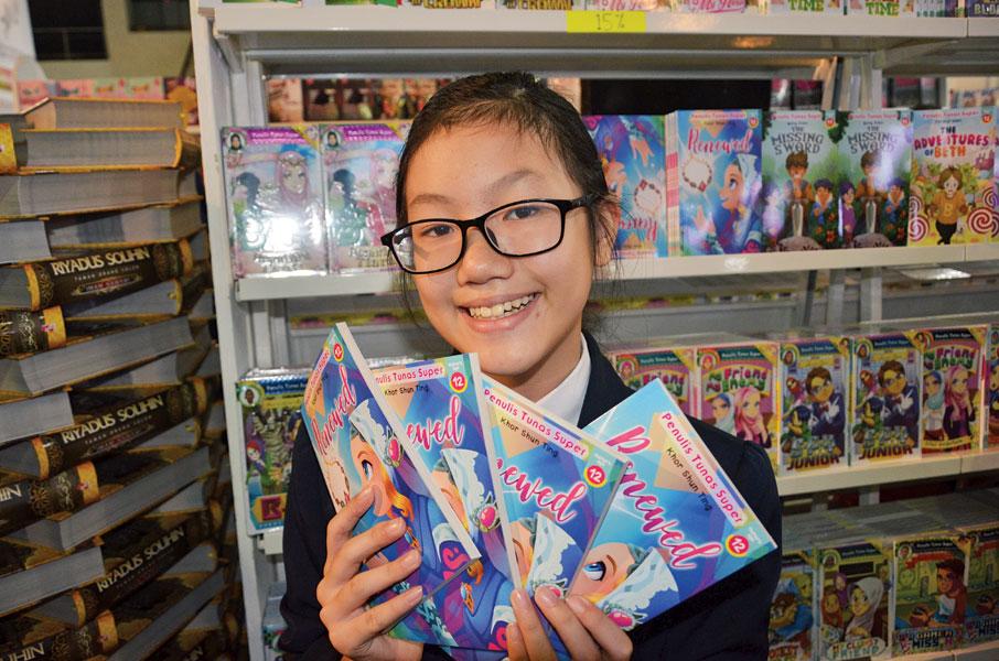舜婷所撰写的《Renewed》将陆续在各大书店面市。
