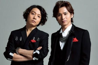 """""""近畿小子""""由堂本刚(左)和堂本光一组成。"""