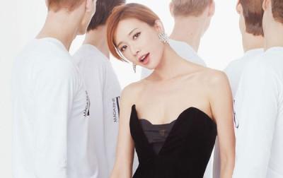 林志玲形象良好,外型又亮丽。