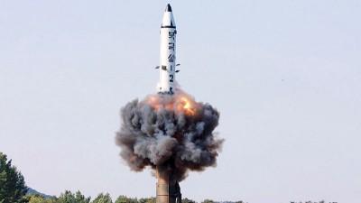 朝鲜周四早上在其东岸地区发射多枚不知名导弹。