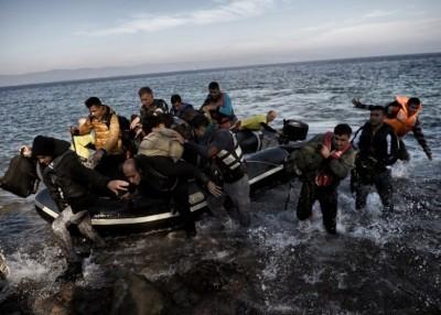 大量难民近期涌进欧洲。