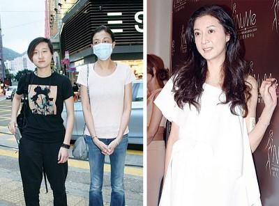 (左)日前卓林(昨)终于回家,母女重修旧好,大团圆结局。(右) 之前为卓林劳碌奔波的吴绮莉,明显悉心打扮出席美容公司活动。