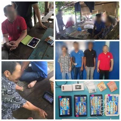 赌博集团通过免费给每个登记会员的赌客一尊三星平板电脑,给他们随时随地都不过赌博。