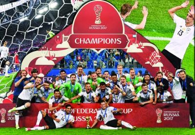 年轻德国队勇夺洲际杯。