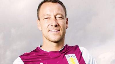特里正式加盟英冠球队阿斯顿维拉。