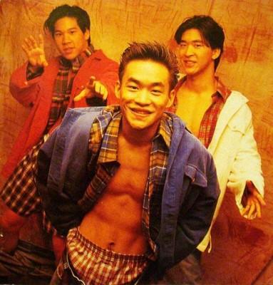 """林智文(左起)、黄立成、黄立行组成的""""L.A. Boyz""""曾风靡一时。"""