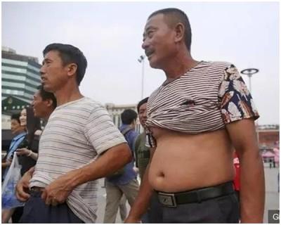 """""""北京比基尼""""只限男人。"""