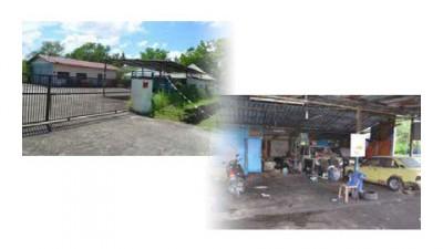 (左)当吉打州马莫的洗车中心,消费了8000令吉创业贷款,本就荒废。(右)贷款1万令吉创设,位居吉打港口的修车厂就休业。