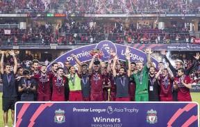 赢得英超亚洲杯后,利物浦不忘感谢香港球迷的款待与支持。