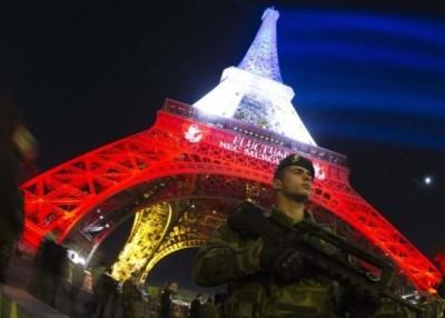 恐怖袭击导致巴黎游客数量大减。