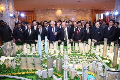 大马城计划已吸引7家中国公司以及两家日本公司竞标。