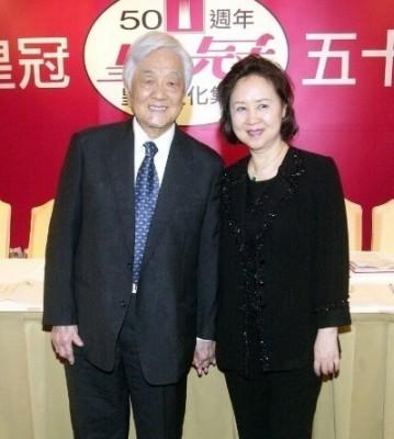 琼瑶和平鑫涛结婚39年。