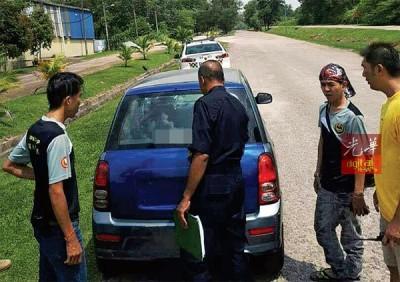 警方介入调查后证实汽车是在亚罗士打报失。