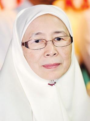 旺阿兹莎估计不会捍卫峇东埔国席和加影州议席。