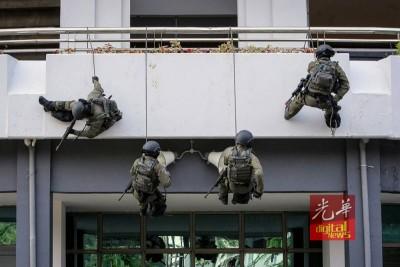 警方将进行防恐亚洲城登录网站活动。(档案照)