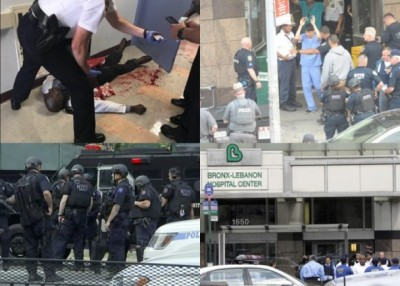 布朗克斯黎巴嫩医院发生枪击案,枪手行凶后自杀身亡。