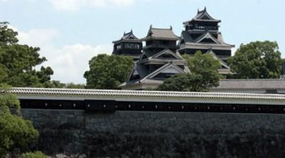 熊本县亦有地震,图为熊本县市貌。(互联网图片)